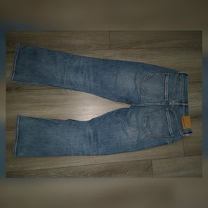 denim forum Jeans - Aritzia Denim forum Bailey high rise crop flare